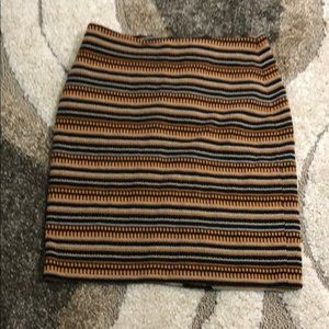 Doncaster • orange and black skirt